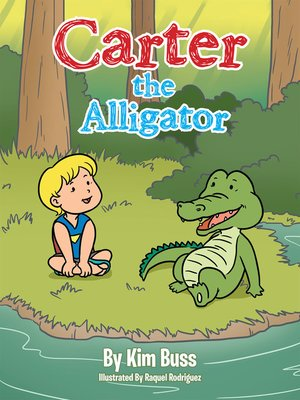 cover image of Carter the Alligator