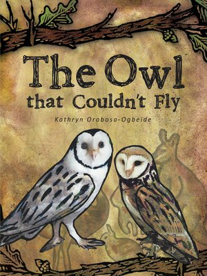 cover image of The Owl That Couldn'T Fly