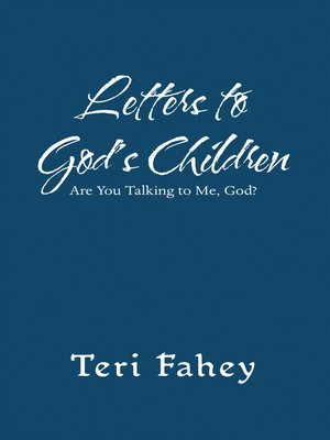 cover image of Letters to God'S Children