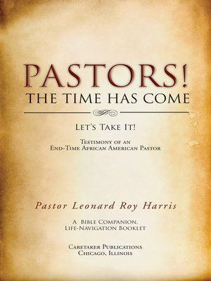 cover image of Pastors! the Time Has Come