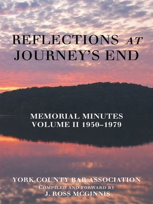 cover image of Reflections at Journey's End