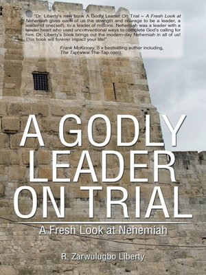 cover image of A Godly Leader on Trial