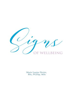 cover image of Signs of Wellbeing