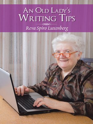 cover image of An Old Lady'S Writing Tips