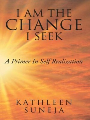 cover image of I Am the Change I Seek