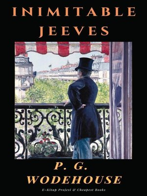 cover image of Inimitable Jeeves