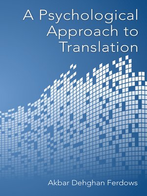 cover image of A Psychological Approach to Translation