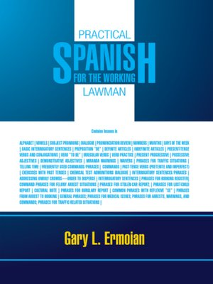 cover image of Practical Spanish for the Working Lawman