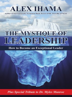 cover image of The Mystique of Leadership