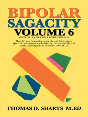 cover image of Bipolar Sagacity Volume 6