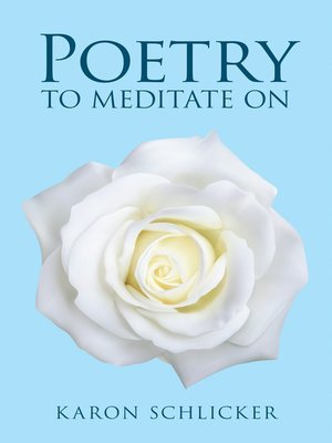 cover image of Poetry to Meditate On