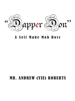 "cover image of ""Dapper Don"""