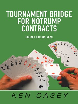 cover image of Tournament Bridge      	 for Notrump Contracts