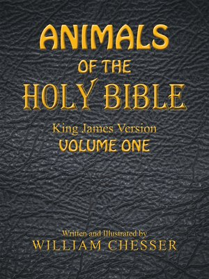 cover image of Animals of the Holy Bible King James Version