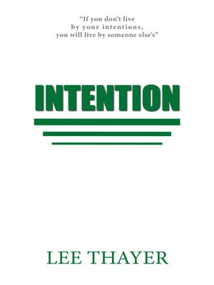 cover image of Intention