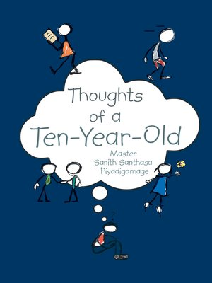 cover image of Thoughts of a Ten-Year-Old