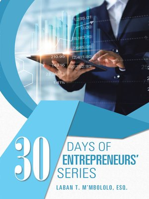 cover image of 30 Days of Entrepreneurs' Series