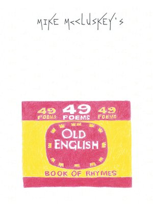 cover image of Book of Rhymes