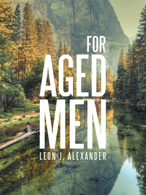 cover image of For Aged Men