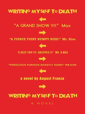 cover image of Writing Myself to Death