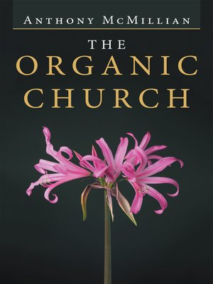 cover image of The Organic Church