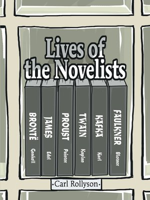 cover image of Lives of the Novelists