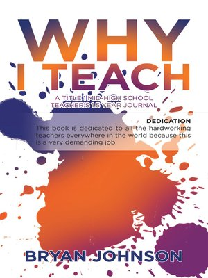 cover image of Why I Teach