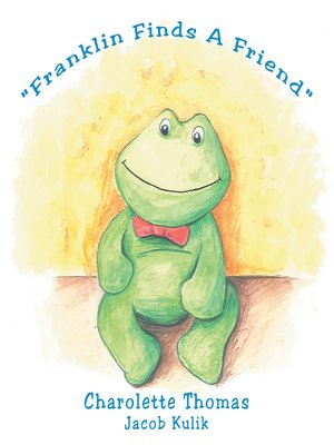 "cover image of ""Franklin Finds a Friend"""