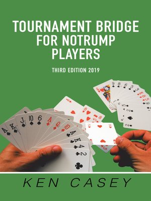 cover image of Tournament Bridge      	    for Notrump Players