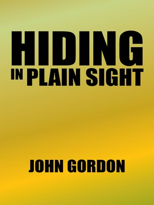 cover image of Hiding in Plain Sight