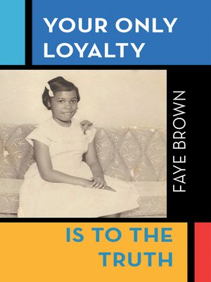 cover image of Your Only Loyalty Is to the Truth