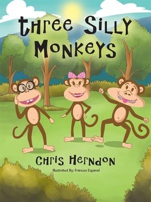 cover image of Three Silly Monkeys