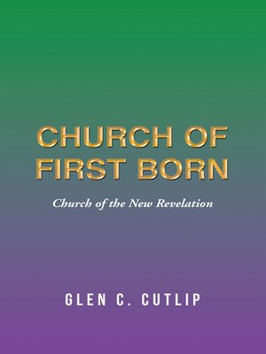 cover image of Church of First Born