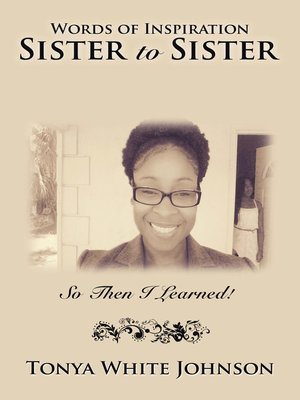 cover image of Words of Inspiration Sister to Sister