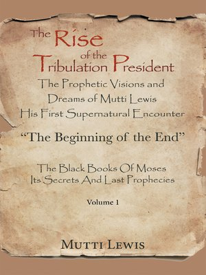 cover image of The Rise of the Tribulation President