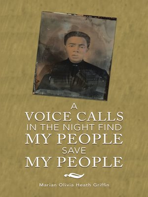 cover image of A Voice Calls in the Night          Find My People Save My People