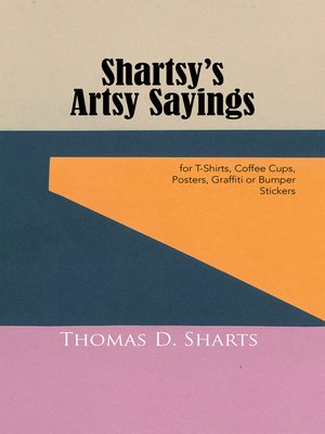 cover image of Shartsy'S Artsy Sayings