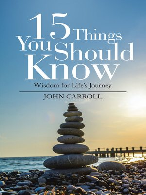 cover image of 15 Things You Should Know
