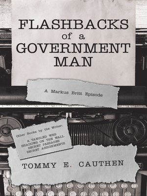 cover image of Flashbacks  of a  Government Man