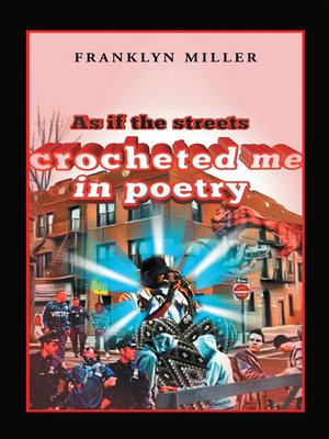 cover image of As If the Streets Crocheted Me in Poetry