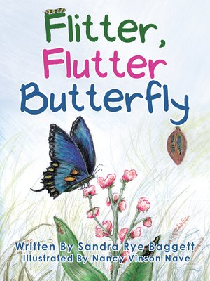 cover image of Flitter, Flutter Butterfly