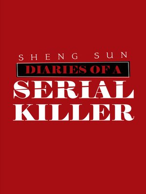 cover image of Diaries of a Serial Killer