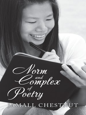 cover image of Norm and Complex of Poetry