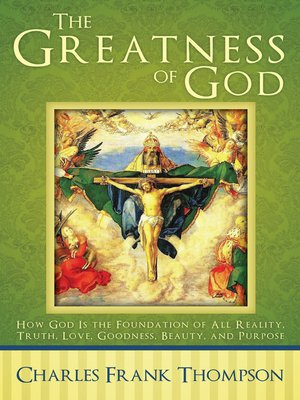 cover image of The Greatness of God