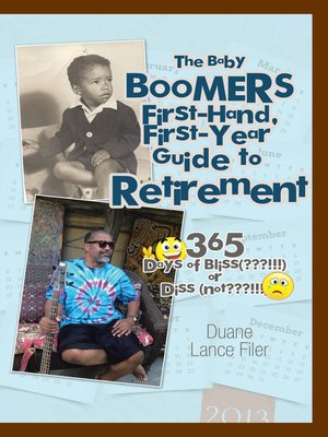 cover image of The Baby Boomers First-Hand, First-Year Guide to Retirement