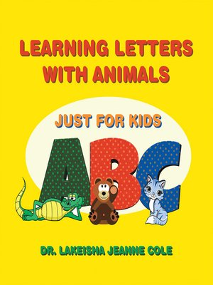 cover image of Learning Letters with Animals