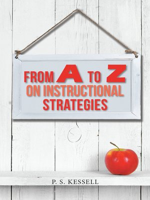cover image of From a to Z on Instructional Strategies