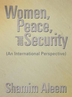cover image of Women, Peace, and Security