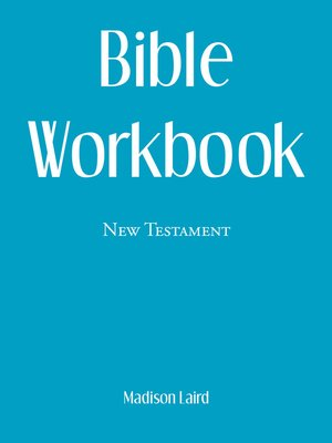 cover image of Bible Workbook
