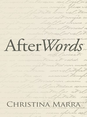 cover image of Afterwords